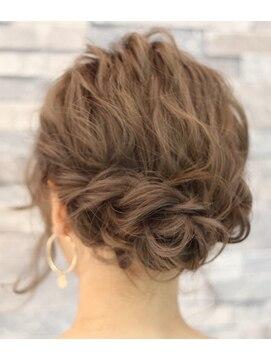 波ウェーブヘアアレンジ L005876357 アース 天童店 Hair Make Earth