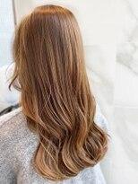 【AUBE HAIR】まろやかブラウンカラー