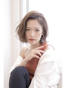アグ ヘアー ドレス 喜久田店(Agu hair dress)ゆるふわフェミニンシルエットミディ