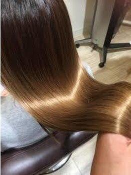 ヘアーデザイン アール(HairDesign Ar)の写真/【JR・神鉄三田駅徒歩2分】高い補修力で人気沸騰の<Oggi Otto>☆綺麗になっていく髪を実感できる◎