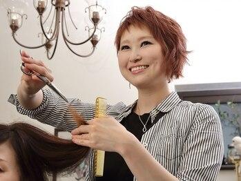 ヘアー ドレッサー ティカ(Hair Dresser TiCA)の写真/【完全プライベートサロン】しっかりカウンセリングしながら一人一人に似合うオンリーワンスタイルを提案♪