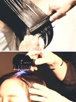 アイナ 銀座(Aina)の写真/【A1出口徒歩10秒】なりたい髪質・質感を自分で選べる!新感覚フローディアトリートメント♪【Aina 銀座】