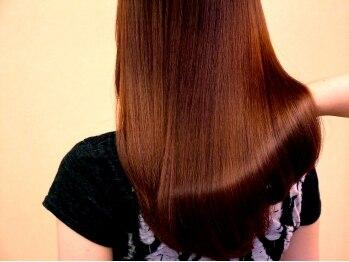 """美容室 リセ(Rise)の写真/高リピーター率☆Riseの""""極上の艶髪体験""""M3Dトリートメントが凄い!天使の輪をあなたの髪に…*"""