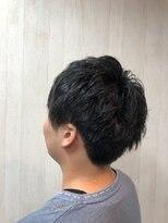 アルファ ヘアー デザイン(alpha hair design)ポイントパーマ ツーブロック 刈り上げ