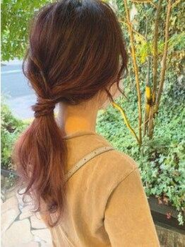 ジョイヘアー 大道店(JOIE hair)の写真/【要望やお悩みを丁寧にヒアリング】骨格や髪質に合わせ、あなただけの《似合わせヘア》を一緒に創ります*