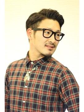 ヘアーアートシフォン 川口東口店(hair art chiffon)ツーブロック&ビジネステクノサイドパートショートレイヤー