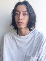 【ACA】ラフナチュラルミディアムヘアー