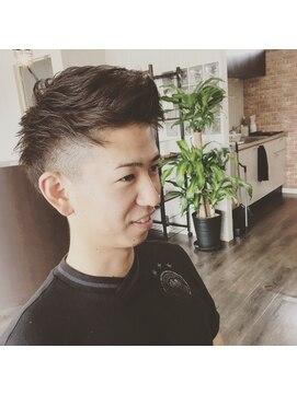 プロキシムヘアワークス(proxim hair works)ツーブロック