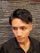 プレミアムバーバー 原宿店(PREMIUM BARBER produce by HIRO GINZA)ツーブロック×セクシーパーマ