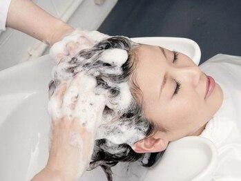 """ヘアメイク サッカ 中山店(Hair make sacca)の写真/【野菜の力をキレイの力に】大人女性の為のエイジングケアメニュー""""ベジタブルスパ""""で強く美しい髪に―。"""