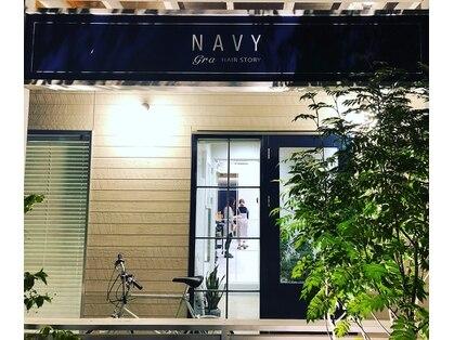 ネイビー グラ ヘアー ストーリー(NAVY gra HAIR STORY)の写真