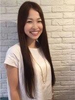 ティコラ ヘアファクトリー(teaco.la hair factory)艶めきストレート