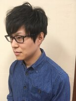 桜デコ(DECO)メンズショートスタイル