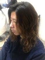 【ROji】メンズロングヘアにパーマかけてみた