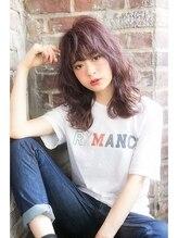 オーブ ヘアー ガーデン 渋谷店(AUBE hair garden)セクシーでおしゃれ感漂うふんわりパーマ♪