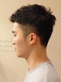 ココスタイル(COCO.style)の写真/【21:00まで営業】メンズに人気のプライベートサロン★男性スタイリストが創り上げる、デキる男Style!