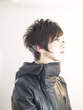 ナチュラル ヘアーデザイニング(Natural hair designing)☆「大人カッコイイ☆ショートレイヤー」☆