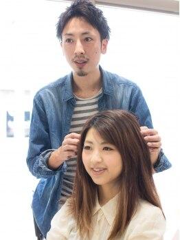 ジャーニー(journey)の写真/うねり・ハネ・広がりなどの髪の悩みをお持ちの方♪経験豊富なスタイリストが最善のお手入れをレクチャー!