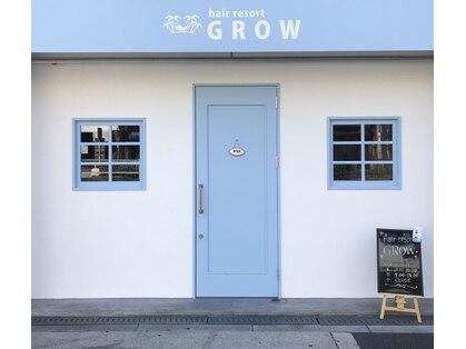 ヘアー リゾート グロウ(hair resort GROW)の写真