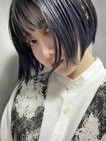 イトシテ【 グレーアッシュ × ミニボブ 】浅野美紀