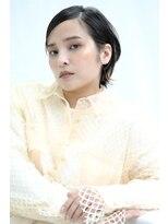 ピークアブー アヴェダ GINZA SIX(PEEK-A-BOO AVEDA)【大人かわいい】濡れ感×外ハネショート