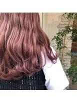ヘアーエスクール 本店(hair S.COEUR)ベビーピンク