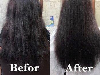 スウィニー トウキョウ(SWEENEY TOKYO)の写真/【30代以降のエイジング世代オススメ◎】まとまらずツヤが出にくい髪質の方へ《髪質改善シームレス¥9900》