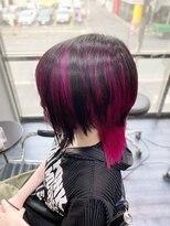 ミミック (mimic)random mesh vivid cherry pink TRICKstyle!