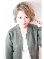 ヘアールーム モテナ(hair room motena)スモーキーグレージュカラー【日暮里駅motena美容室】