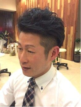 アンティム ヘアーデザイン(antime hair design)の写真/ON・OFFばっちり決まるメンズスタイルもお任せ!美容室に行くのが恥ずかしいと言う方も一度《antime》へ★