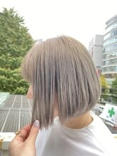 ヘアリゾートエーアイ 新宿西口店(hair resort Ai)まとまりボブ【Ai 新宿 西新宿 新宿西口】