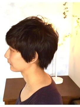 ヘアーカーブ(haircarve)haircarve★ノームコア・ボブショート