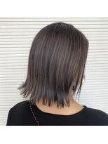 マド ヘア(mado hair)透け感パープルグレー