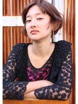 エゴヘアコレクション(EGO HAIR COLLECTION))セミウェットショート 外国人風セピアカラー