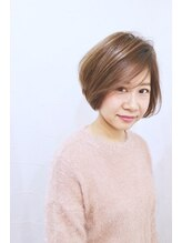 リンダ(LINDA)【LINDA Yukari】フェアリーとろみショートボブ☆外国人風カラー