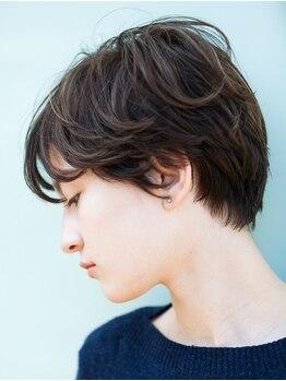 ノディーヘアー(NODDY hair)の写真/【四条烏丸5分】オトナ女性が魅了されるNODDYのショート・ボブスタイル。貴女史上最高の似合せへ―。