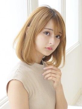 アグ ヘアー リル 志木店(Agu hair lilou)絶対小顔☆王道ワンカールボブ☆