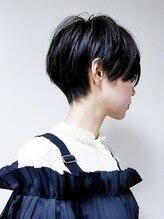 ブレスボー(Breath beauu)【ショート/黒髪×カジュアル×ハンサムショート】tomo