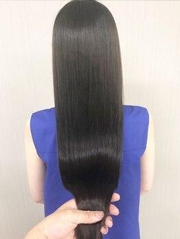 エッセンシャルヘアケア アンド ビューティー(Essential haircare & beauty)の写真/【全国でも希少な認定店】TOKIO≪ハイパーインカラミTR≫で感動のツヤ感に!!髪の強度が最大160%UP!