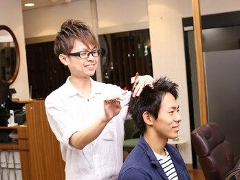 ビューティーボーイ ヤマグチ(BEAUTY BOY Yamaguchi)の写真/一人一人異なった「骨格」「髪質」「クセ」それらを勘案し、お客様の最適なスタイルを導きだす★