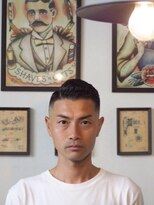 ヘアーサロン ファイン(Hair Salon FINE)クセ毛×hardpart×skinfade