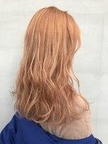 ヘアー アイス ルーチェ(HAIR ICI LUCE)オレンジカラー ハイトーンカラー ブリーチカラー 担当 山中