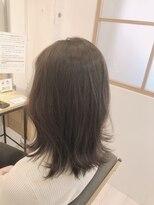 リリー ヘアーデザイン(Lilly hair design)【勝田台Lilly昼間】透明感抜群アッシュ