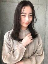 アコロン(acoron)【20代・新社会人】小顔カット×黒髪×透明感イルミナカラー
