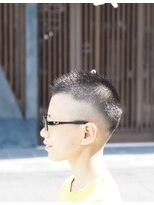 boy's short hair style