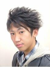 髪工房ウエムラ(UEMURA)流行のモテ髪☆ アシメ&プチ2ブロック刈上げ&3Dカット