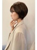 ベックヘアサロン 広尾店(BEKKU hair salon)シースルーな前髪でイメチェンショートボブ★