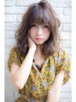 ロンド フィーユ(Lond fille)【Lond fille】大人可愛いミディアムヘア