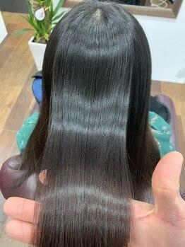 ルアナ ヘアー(LUANA hair)の写真/【髪質改善】徹底ケアで効果長持ちの次世代システムトリートメント取扱店!【縮毛矯正専門店】