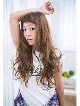 ヘアアンドネイル シーソー(Hair&Nail Seesaw)斜めバング